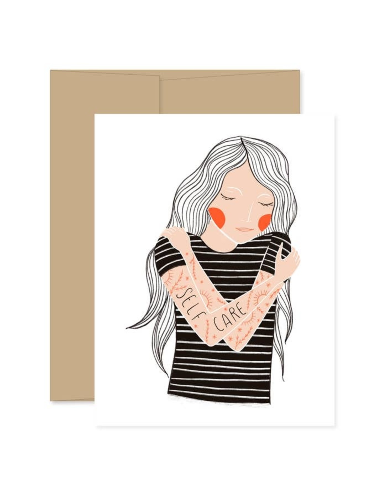 Gingiber Self Care Card