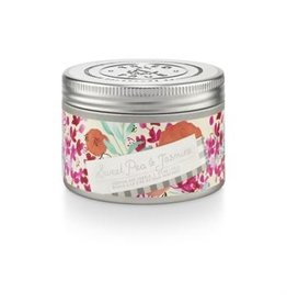 Tried & True 4.1 oz Small Tin Candle - Sweet Pea & Jasmine