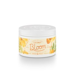 Tried & True 4.1 oz Small Tin Candle - Coconut Bloom