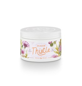 Tried & True 4.1 oz Small Tin Candle - Meadow Thistle