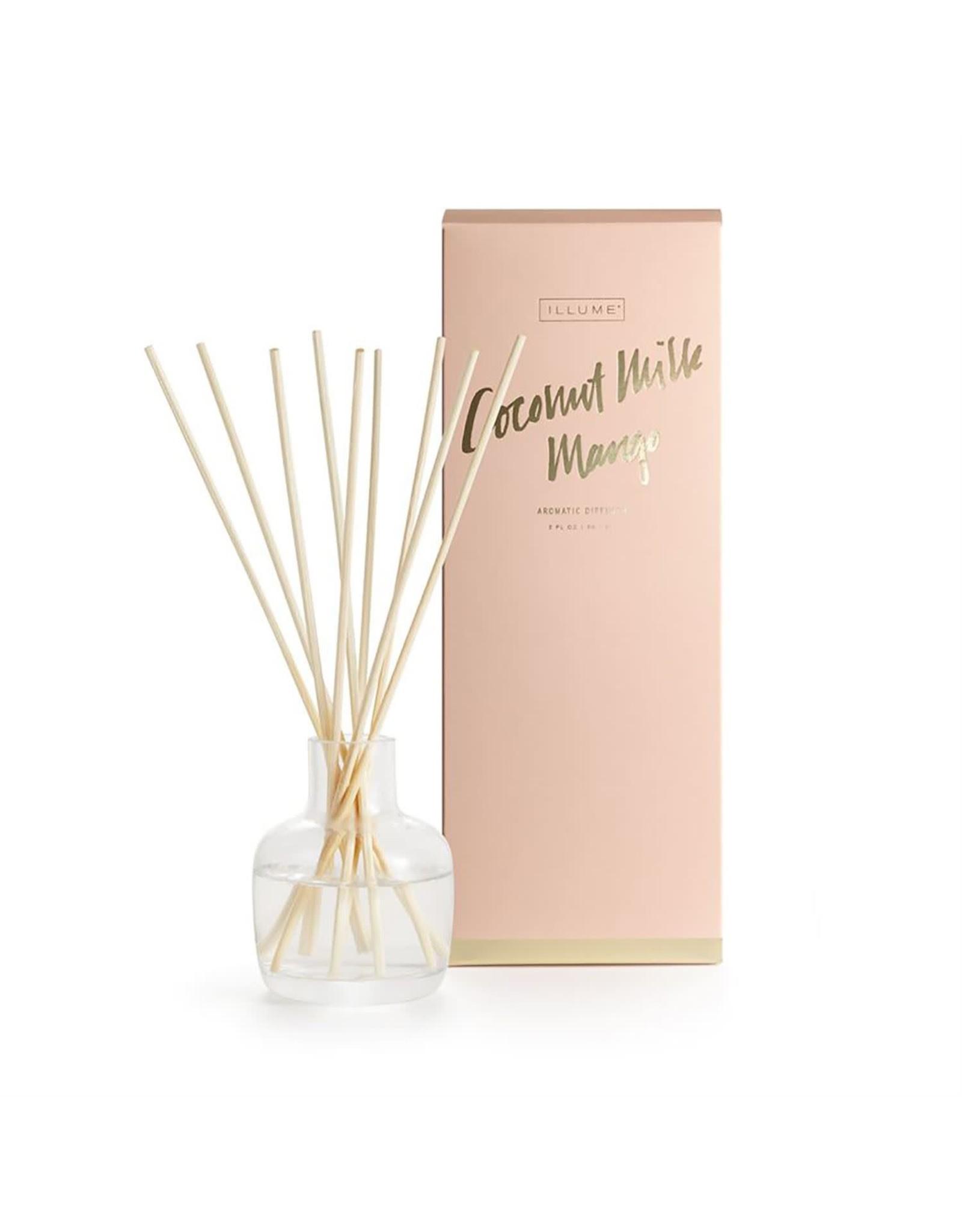 Illume Aromatic Diffuser - Coconut Milk Mango