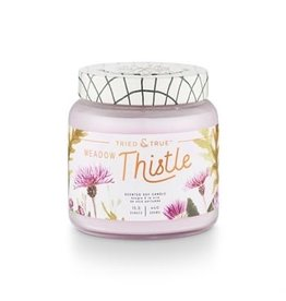 Tried & True 15.5 oz Soy Glass Jar Candle - Meadow Thistle