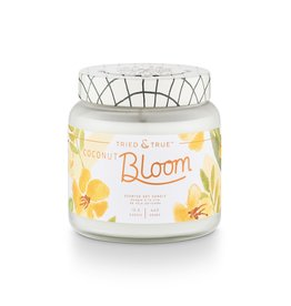 Tried & True 15.5 oz Soy Glass Jar Candle - Coconut Bloom