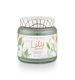Tried & True 15.5 oz Soy Glass Jar Candle - Lush Lily