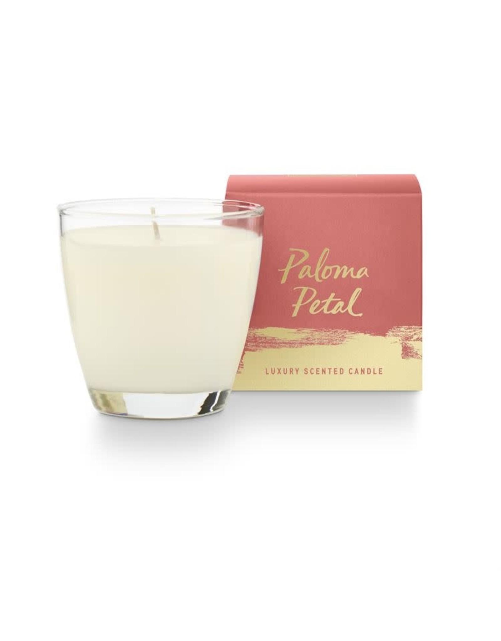 Illume Paloma Petal Glass Candle - 4.7oz