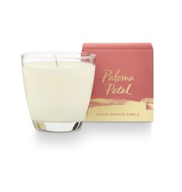 Illume Paloma Petal Glass Candle - 4.7oz