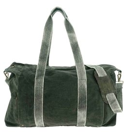 Vintage Addiction Canvas Weekender Bag - Black