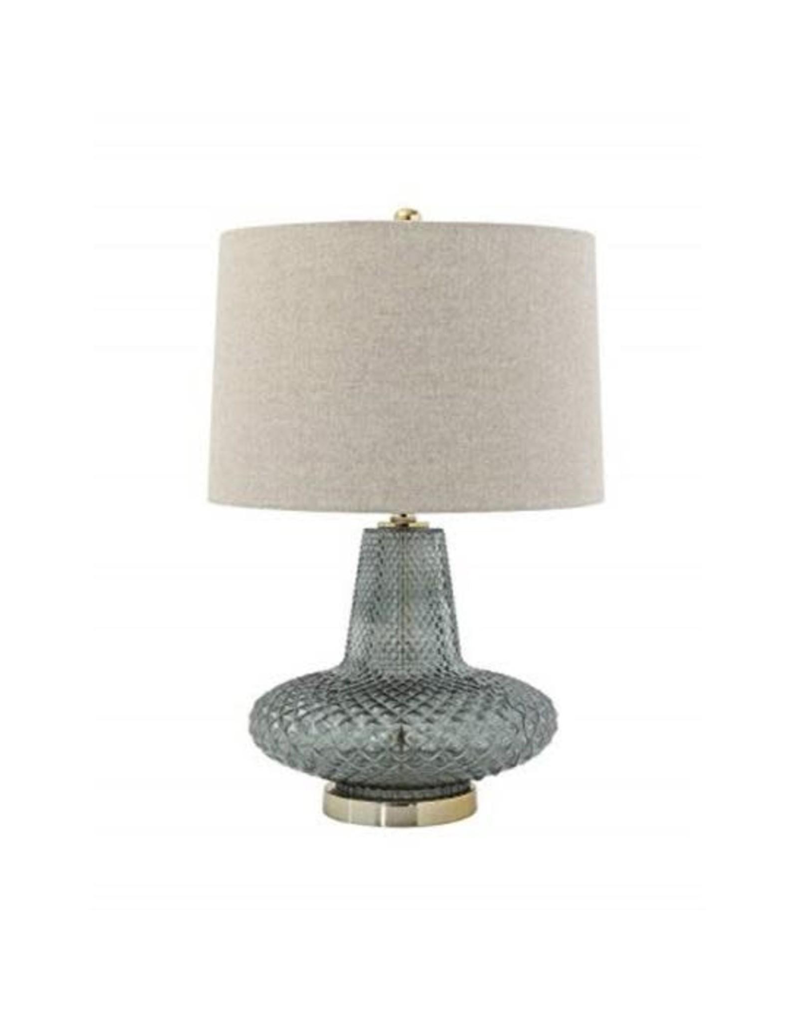 Bloomingville Smoked Glass Lamp