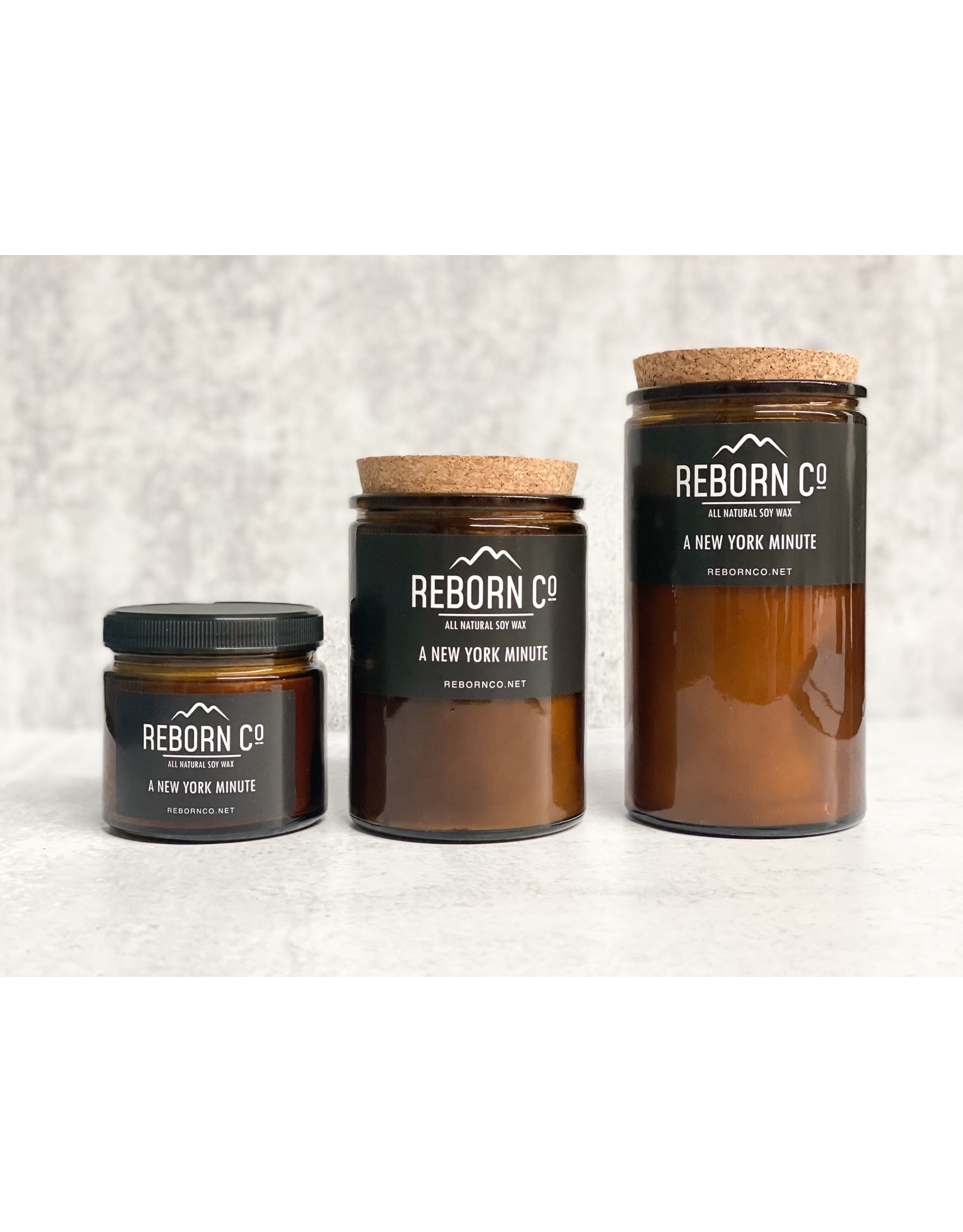 Reborn Co. All Natural Soy Candle - New York Minute
