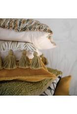 """Creative Co-op 20"""" Wool Blend Boucle Pillow - Green"""