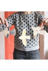 Cotton Clara Wooden Bird Embroidery Kit