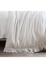 Vintage Living Lily Washed Linen Duvet Set - Queen