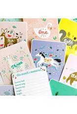 Gingiber Enchanted Baby Milestone Cards