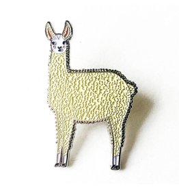 Gingiber Enamel Pin - Llama