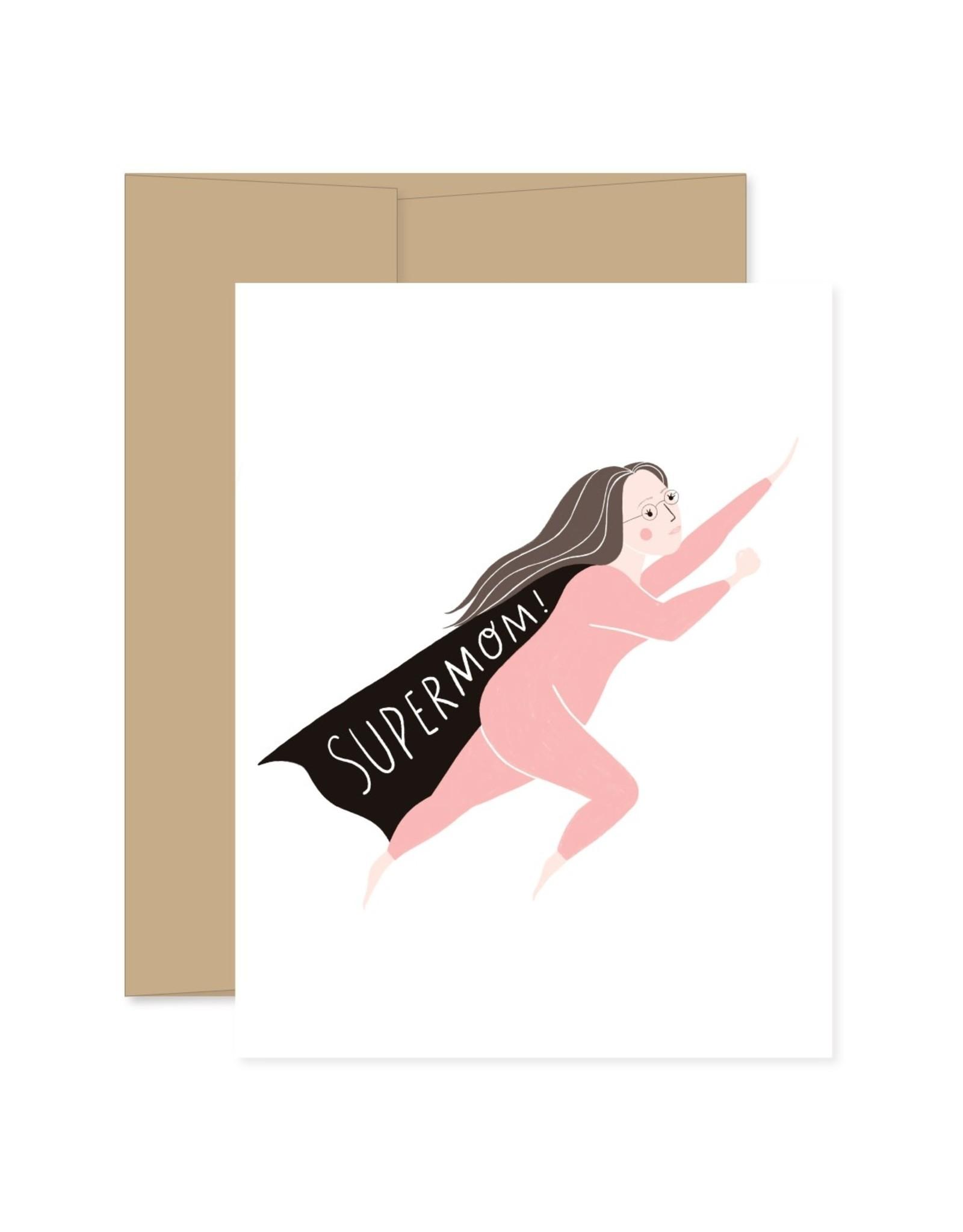 Gingiber Super Mom Card