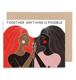 Gingiber Together Card