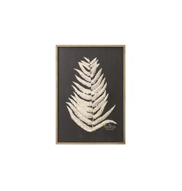 "Creative Co-op 39"" H Laser Cut Fern Leaf Wall Art, Style 1"