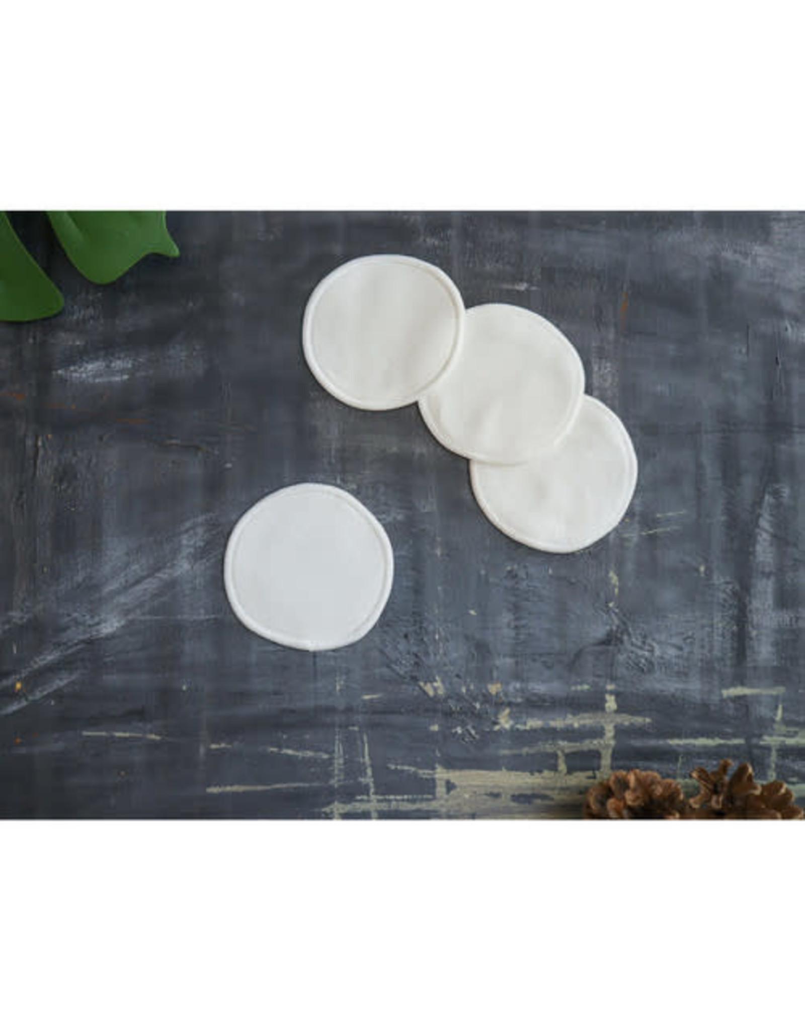 Plantish Reusable Cotton Round-White