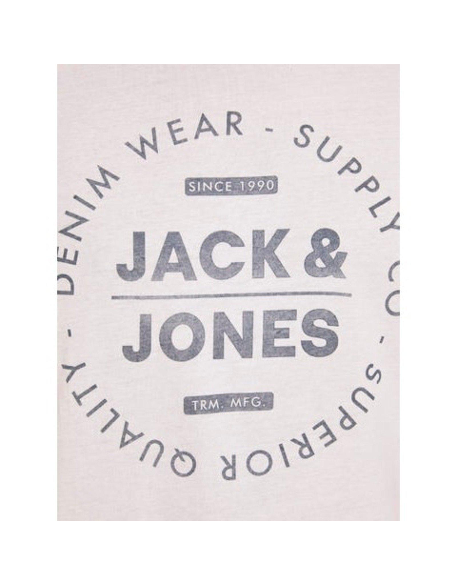 Jack & Jones Crew Neck Tee - White