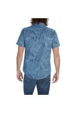 '76 Mens Mercantile Cyrus Chambray Print Shirt