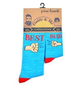 Piero Liventi Daddy & Me Sock Set - Best Buds