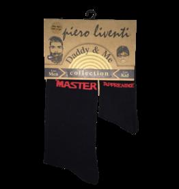 Piero Liventi Daddy & Me Sock Set - Master/Apprentice