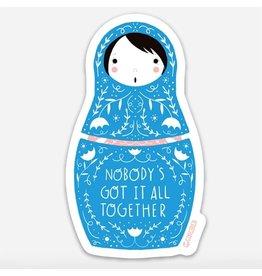 Gingiber Got it Together Sticker
