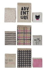 Creative Co-op Patterned Paper Bags, Set of 3 - 3 Styles