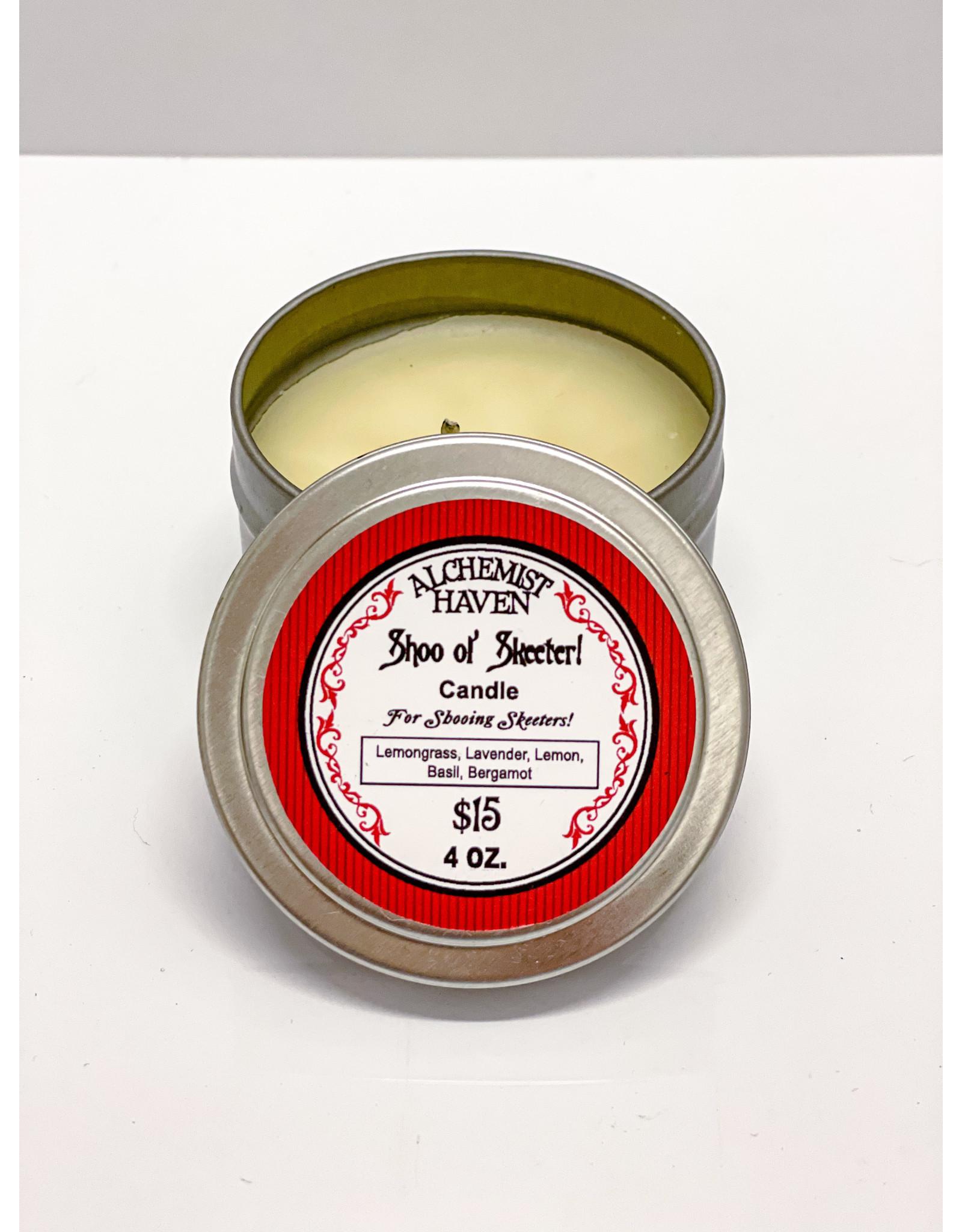 Alchemist Haven Shoo ol' Skeeter Candle - 4 oz