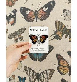 Vocean Designs Monarch Butterfly Wing Studs