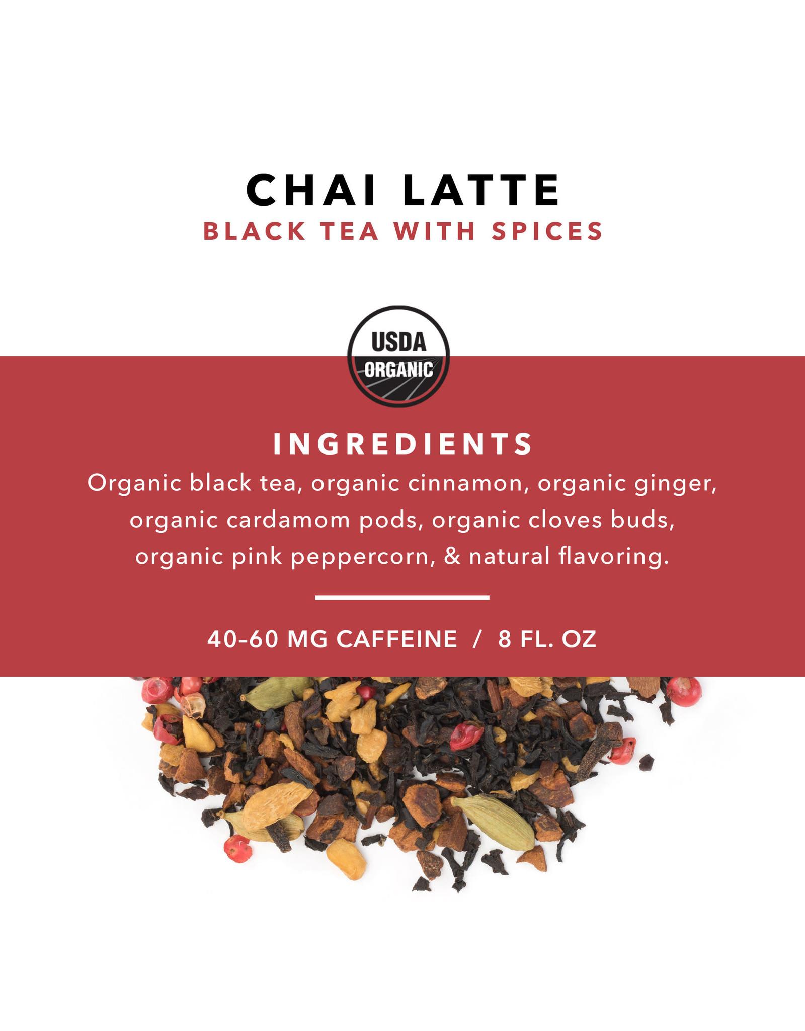 Pinky Up Chai Latte Loose Tea Pouch 3.5oz