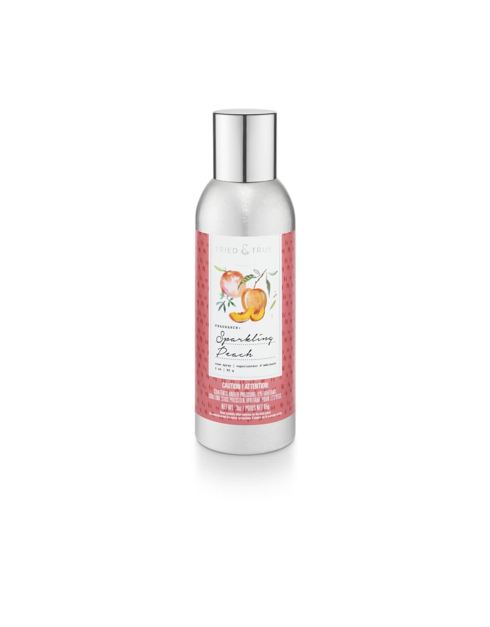 Tried & True 3 oz Room Spray - Sparkling Peach