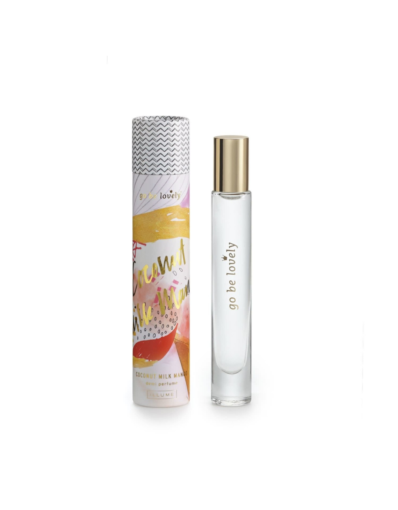 The Florist & The Merchant .22 fl oz Perfume Roller - Coconut Milk Mango