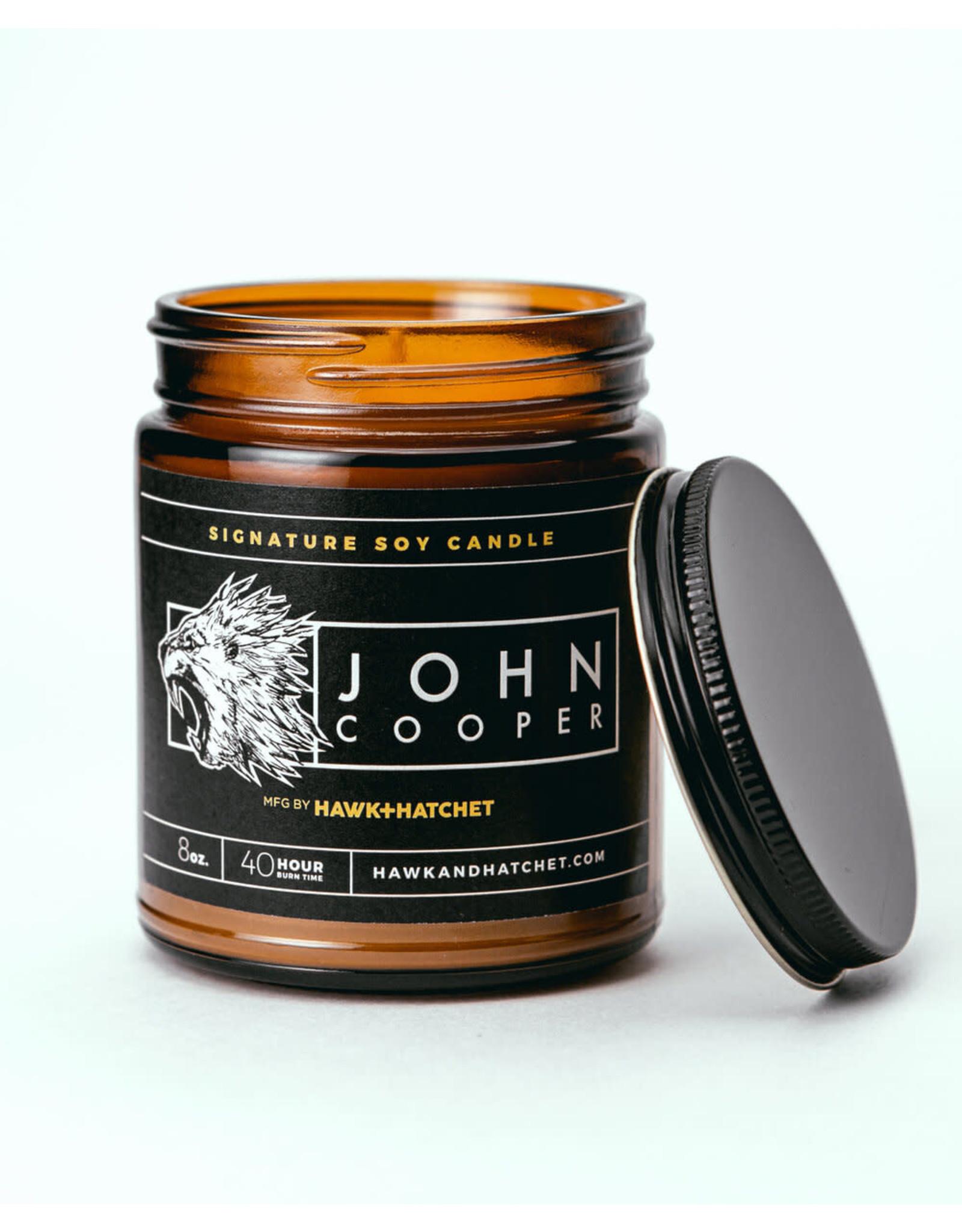 Hawk & Hatchet John Cooper Candle - 8 oz