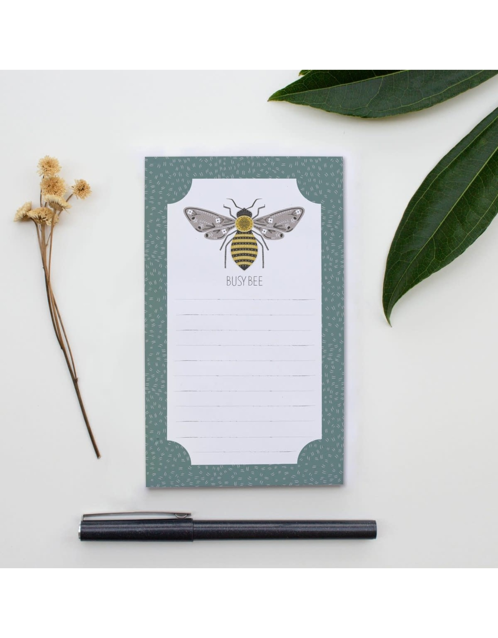 Gingiber Busy Bee Notepad
