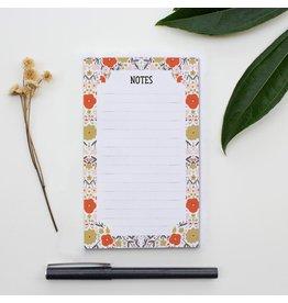 Gingiber Peppy Petals Notepad