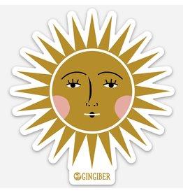 Gingiber Sun Sticker
