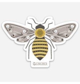 Gingiber Bumble Bee Sticker