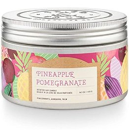 Tried & True 14.1 oz Tin Candle - Pineapple Pomegranate