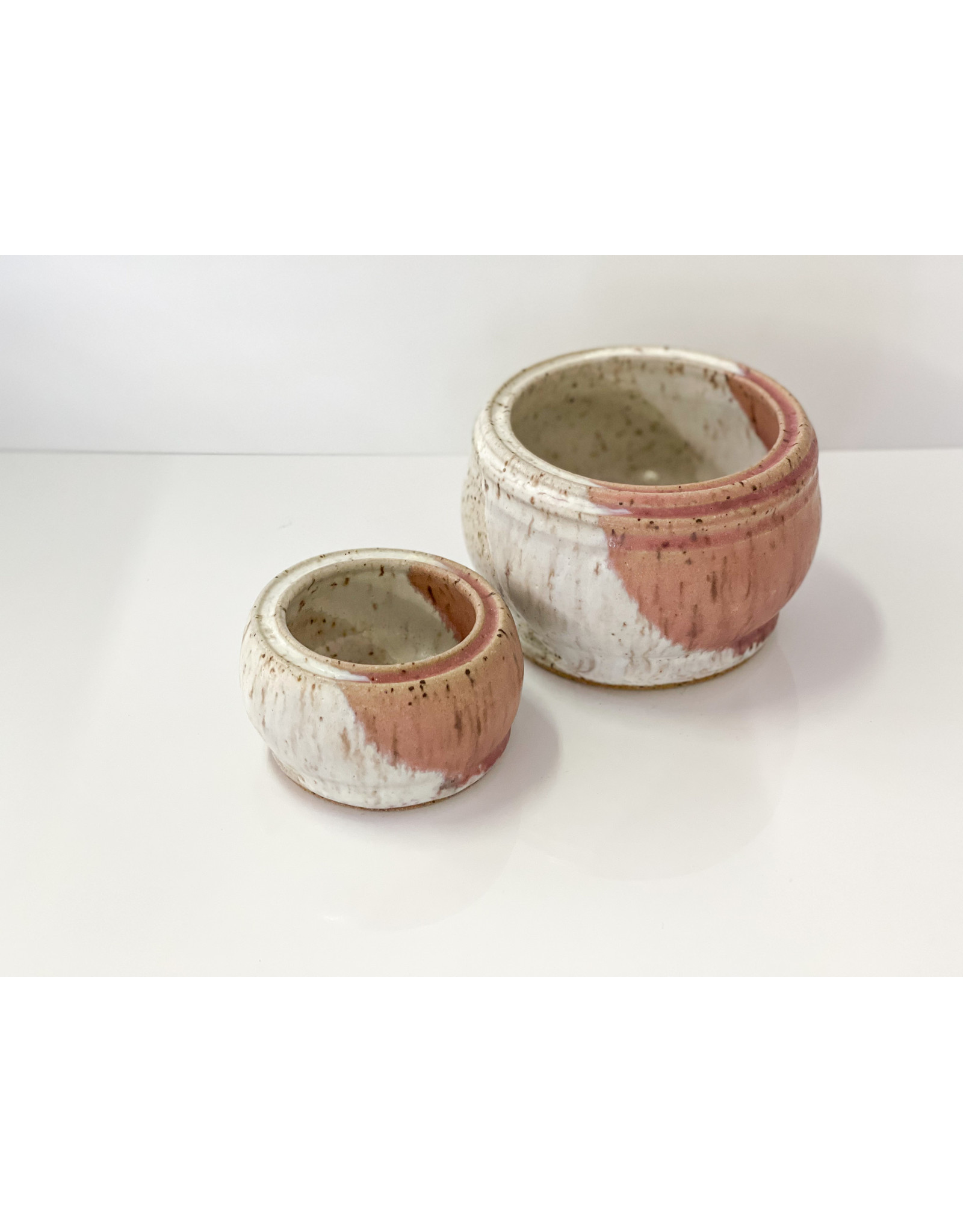 The Florist & The Merchant Hand Thrown Speckled Clay Planter