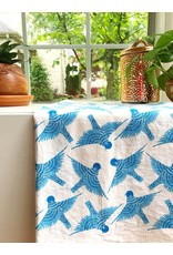 Gingiber Bluebird Tea Towel