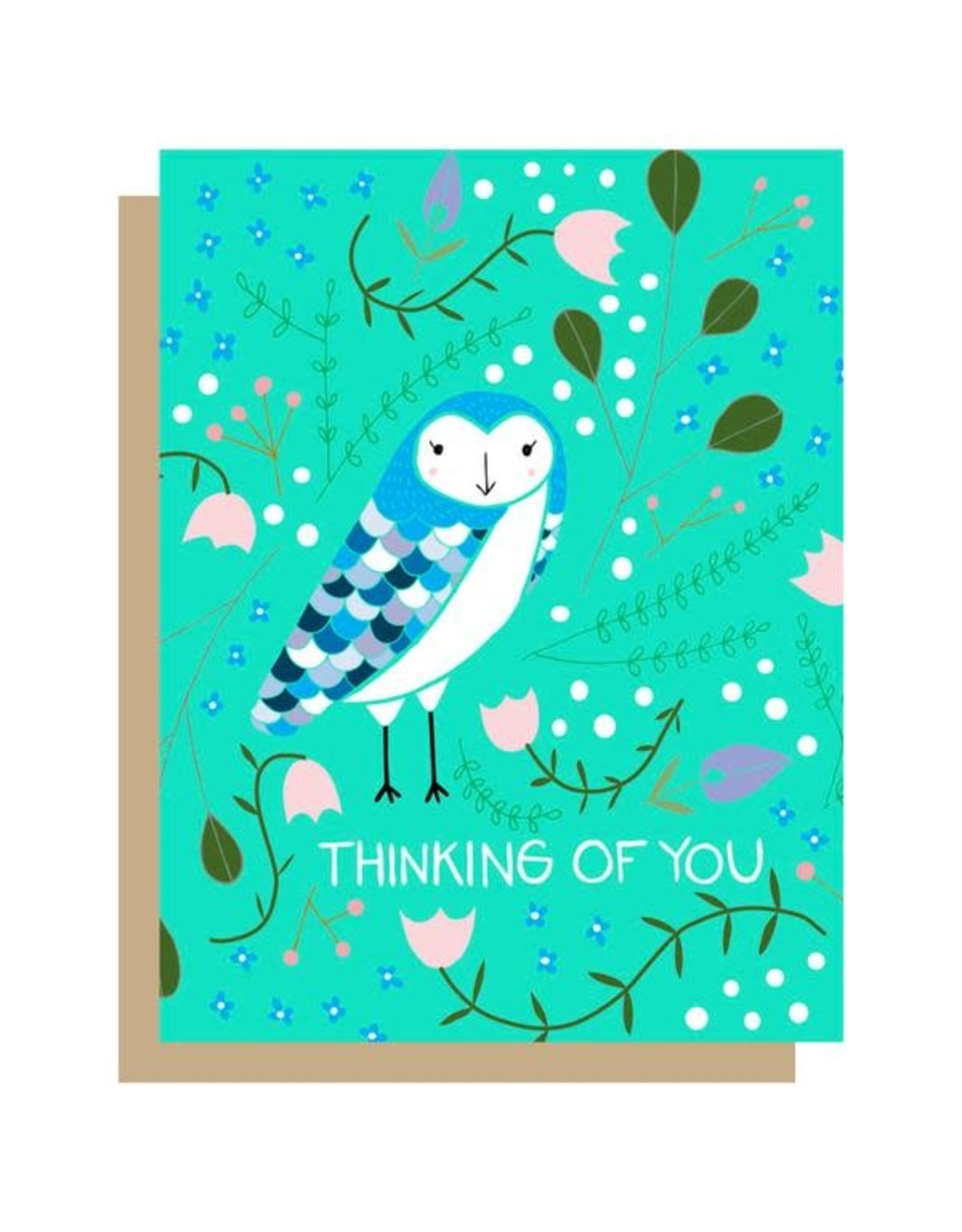 Gingiber Thinking of You Card