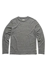 '76 Mens Mercantile Long sleeve Bicolor Crew Neck - Grey