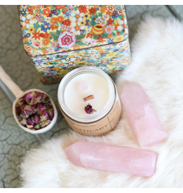 Lit Rituals Warm Heart Soy Candle