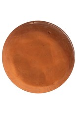 """Creative Co-op 8"""" Amber Glass Disc Serving/Decorative Tray"""