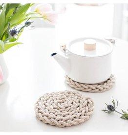 The Florist & The Merchant Finger Knit Trivet Kit