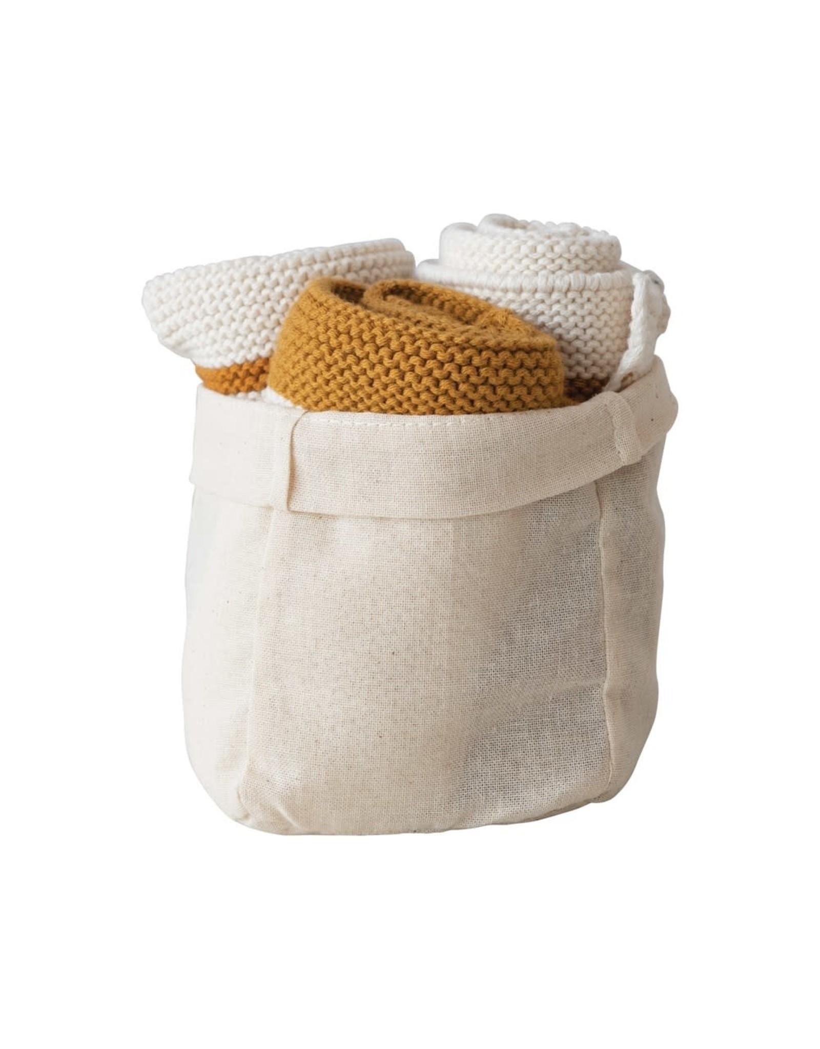 The Florist & The Merchant Cotton Knit Dish Cloths