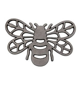 The Florist & The Merchant Bee Trivet - Cast Aluminum