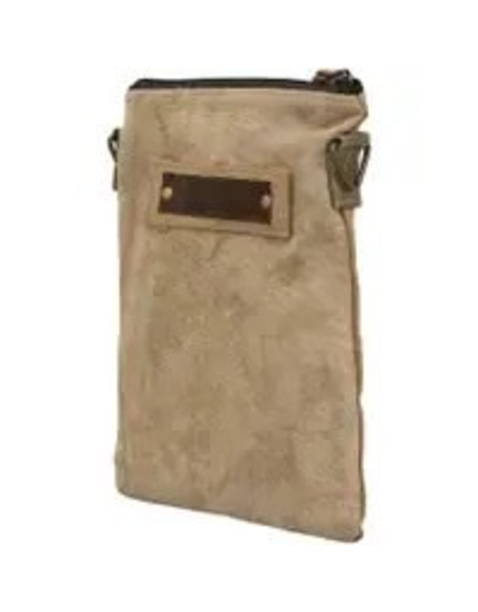 The Florist & The Merchant Recycled Military Tent Crossbody - Small