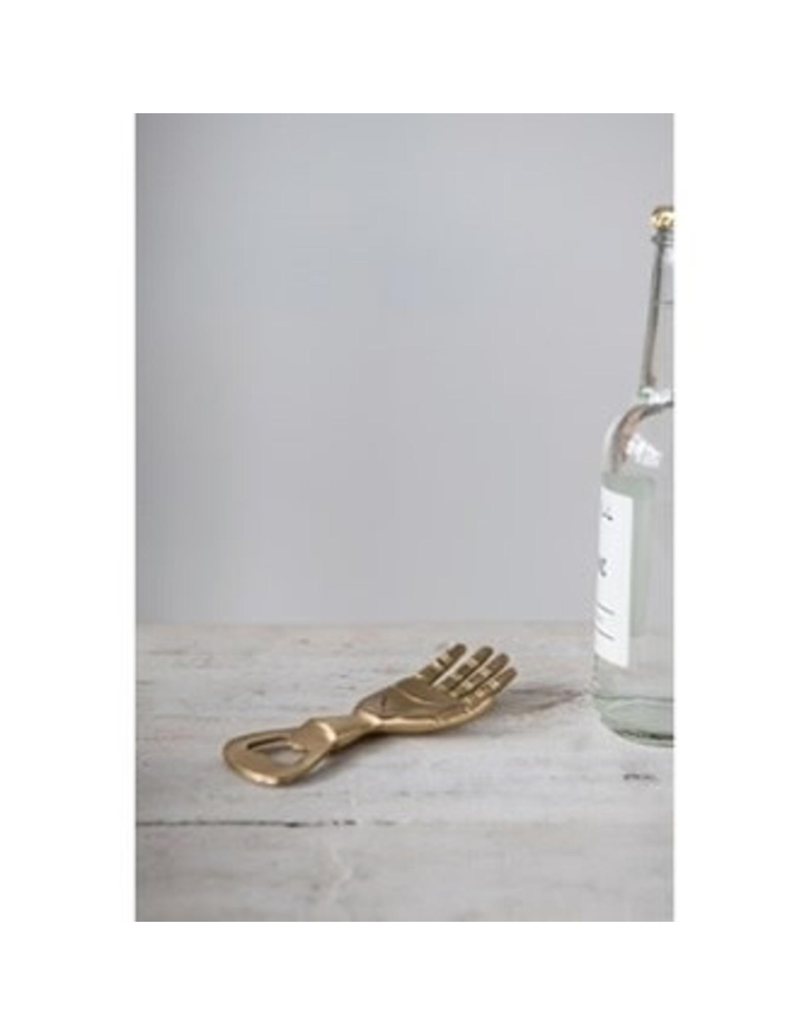 The Florist & The Merchant Brass Hand Bottle Opener